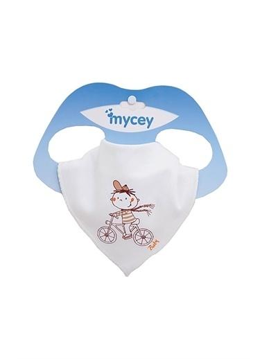 MYCey Mycey Fular Mama Önlügü Renkli